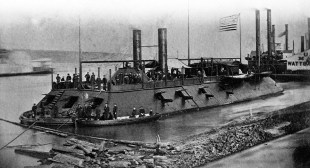 The ironclad USS Cairo (pronounced: Kay-row or Care-oh)